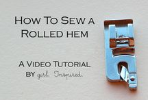 sewing tips and tricks / by Caitlyn Buttaci