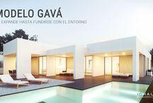 Casa Modular Modelo Gavá / Vivienda que capta la esencia del Mediterráneo a través de sus porches.