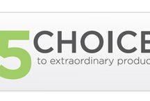 Five Choices to Extraordinary Productivity