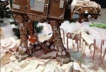 Gingerbread for Geeks / Gingerbread houses, projects, Christmas ornaments and more for all things geek -- Star Wars, Harry Potter, Bob's Burgers,