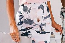 Pencil skirt outfits and patterns