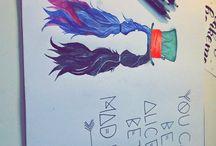 Melanie Martinez drawings