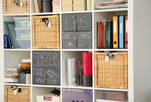 Organize - Crap to put my Stuff In / Attempt at Tidy / by Leah McGill