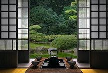 Japanese Interiors / A huge collection of zen inspired interiors, with a look at how traditional Japanese