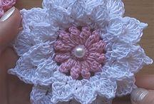 Вязание. Цветы