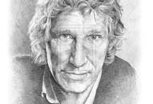 Celebrity Portraits / My pencil portraits of celebrities