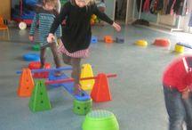 Spelen in de speelzaal