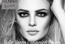 Hello Henna Brows / We are the trainers and Distributors of Hello Henna Brows.  www.adamandevedistribution.co uk