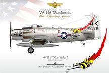 US airplane in Vietnam