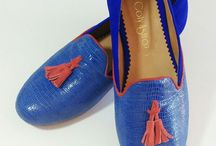 Slippers Vicky / Modelo Slippers | Ribete clásico y pompón | 100% cuero natural | Altura taco 1,5 cm.