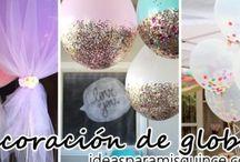 Decoración de globos para tus XV / Decoración de globos para tus XV http://ideasparamisquince.com/decoracion-globos-tus-xv/ Balloon decoration for your XV #DecoracióndeglobosparatusXV #decoraciondelsalon #globos