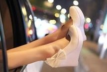 Even if everything else is downplayed, I'll wear good SHOES!