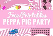 peppa pig party - emilia's 3rd birthday