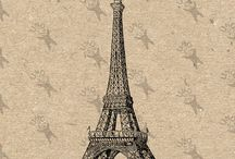 Vintage clipart - Architecture Geography