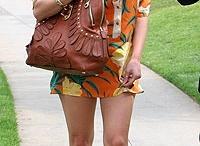 celebrities in shirtdresses