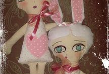Rug dolls