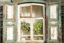 Vanhat ikkunat, ovet ja lukot