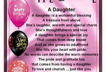 Birthday daughters