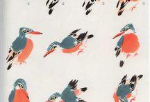 китайская живопись птицы