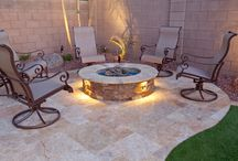 Fireplaces and firepits / A variety of fireplaces and firepits