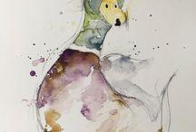 projet dessin rainbow duck