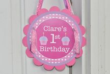Bailey 's 1st birthday  / by Bridget Bowes