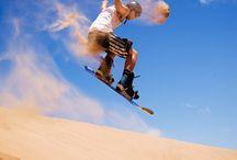 Sandboarding around the globe