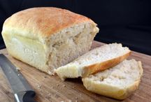 Bread recipes / by Stephanie Schlimm