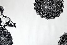 graphics / my work/ linocut/silkscreen