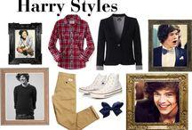 Harry Styles Look