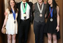 Scholastic Arts and Writing Awards 2014 / Award winners from DCDS - Austin, Elbert, Paget, Claire, and Julia.