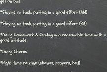 Home  good behavior ideas