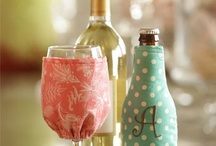 wine bottle crafts / by Beth Salazar/U Vinyl Me Crazy