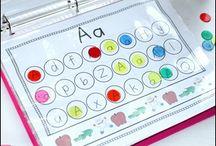 Aprendizaje letras/numeros