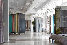 curtain showrooms interior
