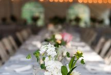 The Outing Lodge / Wedding floral designed by Minneapolis wedding florist Artemisia Studios for a wedding at The Outing Lodge in Stillwater, MN