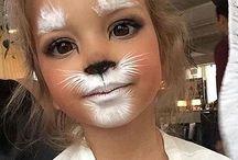 make up animals circus