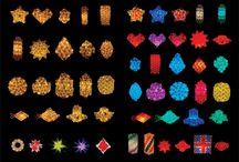IQ/  Jigsaw lights