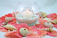 Wedding Candle Centerpieces / by Diane Castro