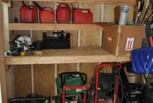 Organizing Garage, sheds, workshops