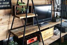 テレビ台 手作り