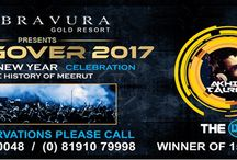 HANGOVER - 2017 / Bravura Gold Resort presents Grandest New Year Eve Celebration (Hangover - 2017) with highly energetic and India's No. 1 DJ Akhil Talreja (Bollywood Remix Producer), who will set the dance floor on fire. For more details, please visit us at http://www.newyear-party.in/ or call us now at +91-8191079998, 8191900048 & 8476000194