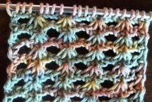 lace crochet  Tunisian