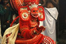 """Art in Kerala"" / Kerala is well known for its diverse forms of performing arts. The most famous & powerful one is ""Kathakali""."
