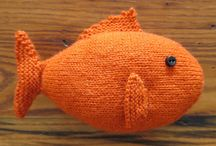 George the knitted fish