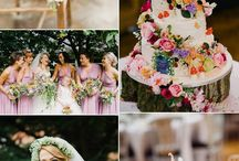 Bright and colourful weddings / Weddings with a bright and lively colour theme