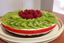 Cheesecake  con kiwi e lamponi / I Dolci di Maria Rita