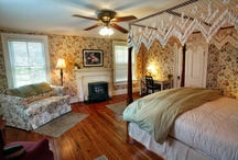 Hummingbird Inn Rooms / The 5 rooms at the Hummingbird Inn in Goshen, VA are unique in style and feel.  There is one for you.