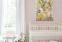 Baby Girl Nursery Design and Style Ideas / Elegant and Stylish Decor Ideas for a Baby Girl Nursery.