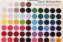 Color Palet / Deep Winter